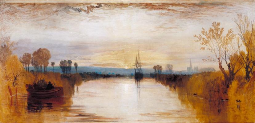 Joseph Mallord William Turner. Canal Chichester