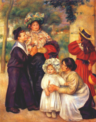 Pierre-Auguste Renoir. Portrait of the artist's family