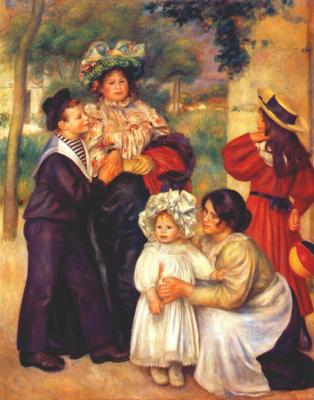 Пьер Огюст Ренуар. Портрет семьи художника
