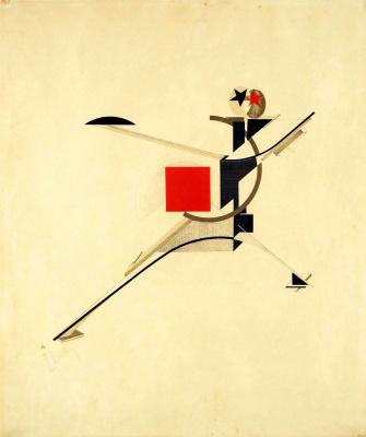 El Lissitzky. New man