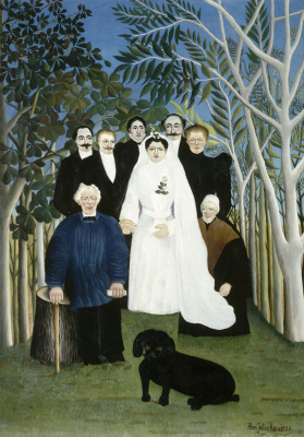 Анри Руссо. Свадьба