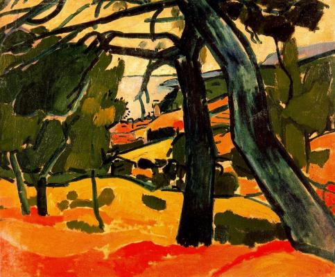 Andre Derain. Landscape