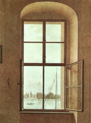 Каспар Давид Фридрих. Вид из студии художника