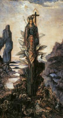 Gustave Moreau. Mystical flower