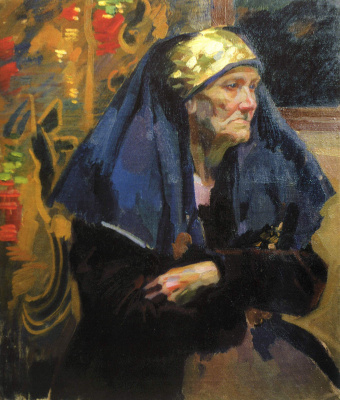 Alexander Murashko. The old woman