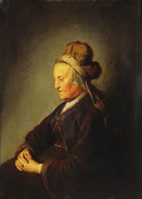Gerrit (Gerard) Dow. The Mother Of Rembrandt