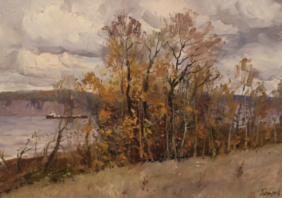 Yury Yakovlevich Petrov. On the Volga