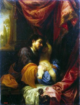 Хуан Антонио де Фриас Эскаланте. Святой Иосиф с младенцем Христом