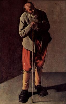 Жорж де Латур. Портрет пожилого мужчины