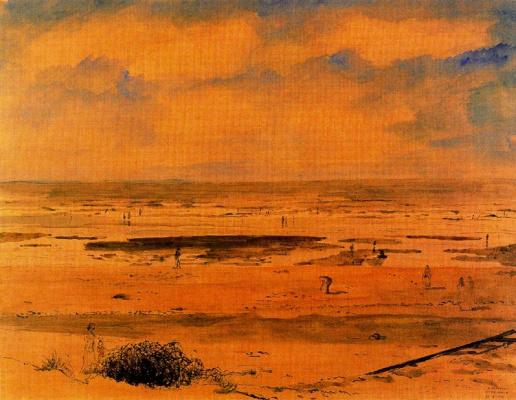 Paul Delvo. Sunset