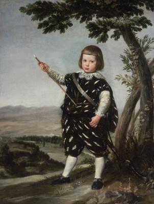 Juan Batista Martinez del Maso. Portrait of Infante Don Balthazar Carlos