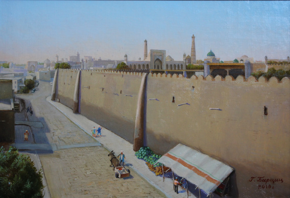 Gennady Shotovich Bartsits. Khiva, the old city
