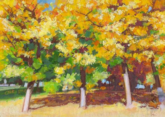 "Oleg Igorevich Kochegarov. ""Autumn Etude"""