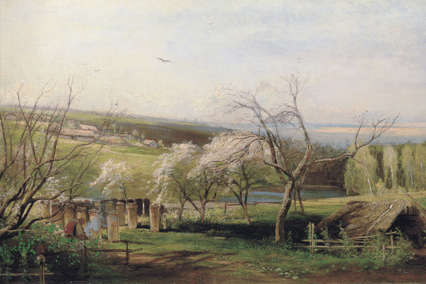 Alexey The Kondratyevich Savrasov. Rural view