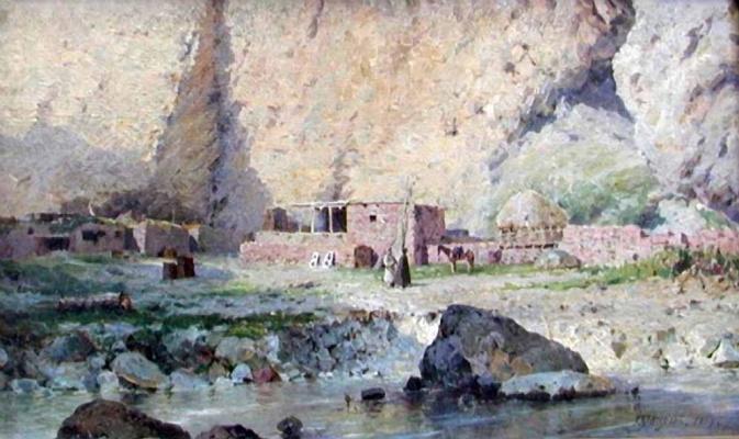 Григорий Федорович Ярцев. В кавказских горах
