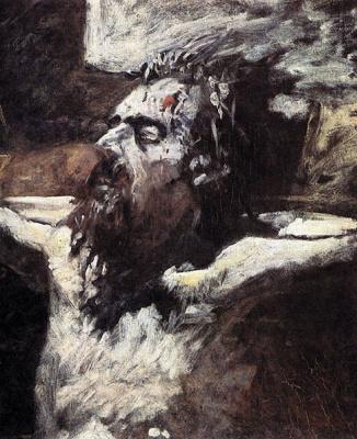 Николай Николаевич Ге. Голова распятого Христа