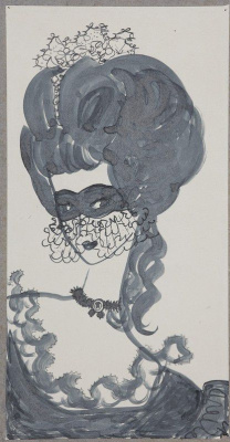 Nadezhda Nikolaevna Rusheva. The Queen of spades