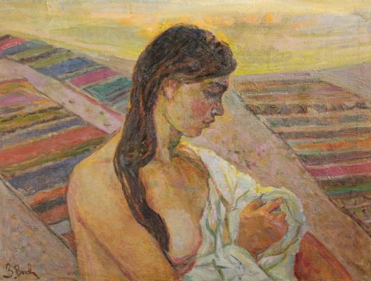 Zinaida Vladimirovna Volkovynskaya. Naked girl