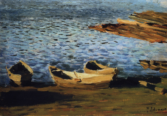 Isaac Levitan. The shore