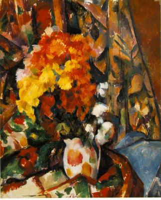 Paul Cezanne. Chrysanthemum