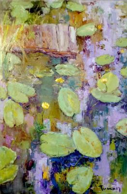 Tuman Art Gallery Tumana Zhumabayeva. Water lilies time