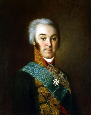Николай Иванович Аргунов. Портрет графа Николая Петровича Шереметева