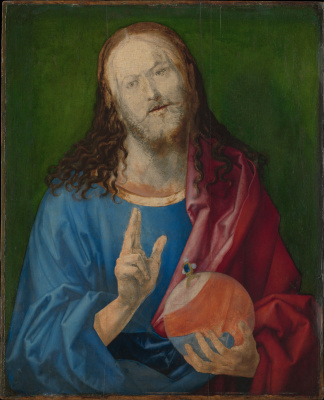Albrecht Durer. The Savior of the world