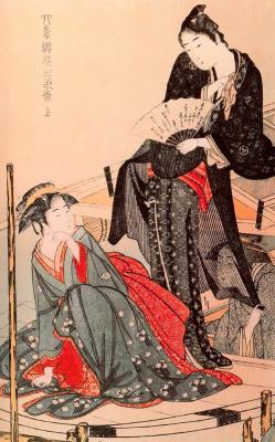 Kitagawa Utamaro. Stylish entertainment four seasons