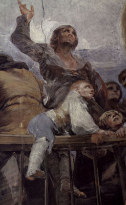 Francisco Goya. The fresco of the chapel of SV. Anthony Florida, part 5