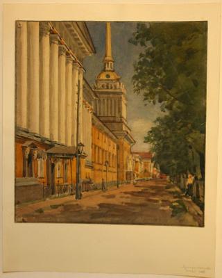 Семен Иванович Аферов. Адмиралтейство