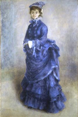 Пьер Огюст Ренуар. Парижанка
