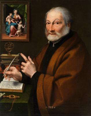 Sofonisba Anguissola. Giovanni Battista Caselli, poet Cremona