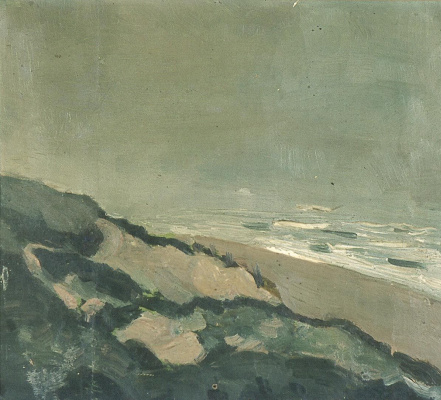 Theo van Dusburg. The dunes and sea