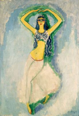 BA RAH Persian dancer