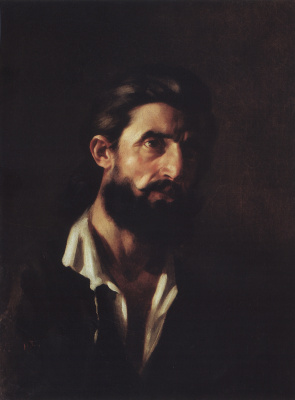 Nikolai Nikolaevich Ge. Portrait of a man