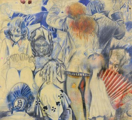 Victor Ivanovich Zaretsky. Women. In the bus