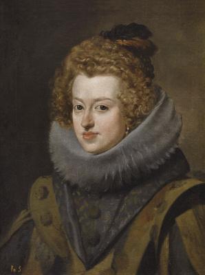 Diego Velazquez. Portrait of the Infanta Maria Anna Spanish, Queen of Hungary