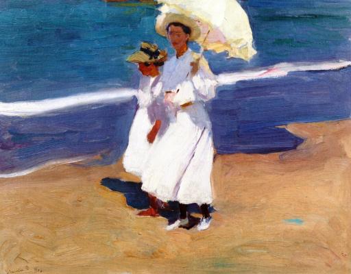Joaquin Sorolla (Soroya). On the coast