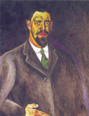 Petr Petrovich Konchalovsky. Self-portrait