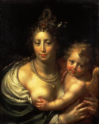 Паулюс Морелсе. Венера с Амуром