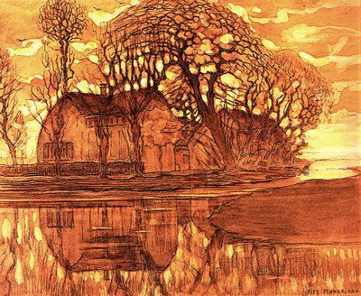 Piet Mondrian. Farm Duivendrecht