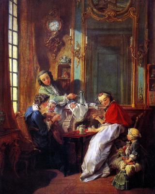 Франсуа Буше. Завтрак
