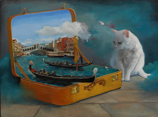Alexander Giza-Ciobanu. Take Venice with a