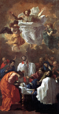 Nicola Poussin. The Miracle Of St. Francis Xavier
