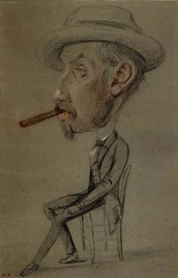 Клод Моне. Мужчина с Большой сигарой