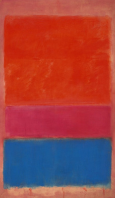 Rothko Mark.  No. 1 (Royal red and blue)