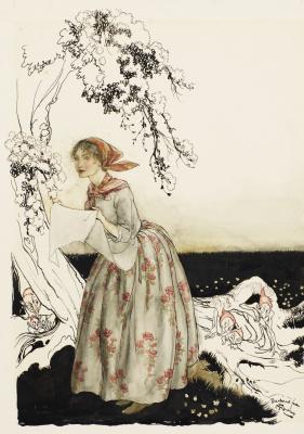 Arthur Rackham. Tales of Mother Goose