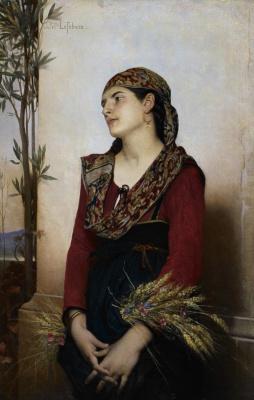 Jules Joseph Lefebvre. Mediterranean beauty
