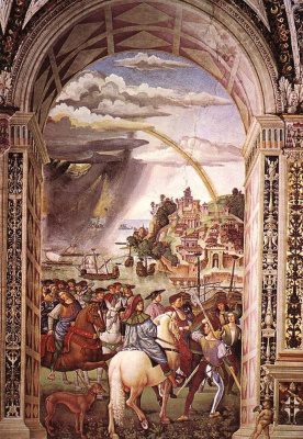 Pinturicchio. The Piccolomini Library
