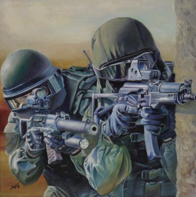 Alexey Chernov. Combat deuce